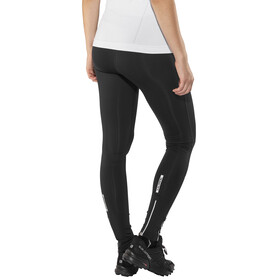 Salming Logo 2.0 Tights Women Black/Silver